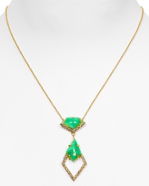 Alexis Bittar New Wave Kite Drop Necklace, 16, Alexis Bittar