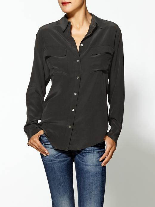 Equipment Black Blouse