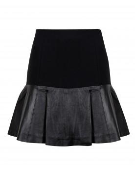Ted Baker Lyanna - Leather Flippy Skirt