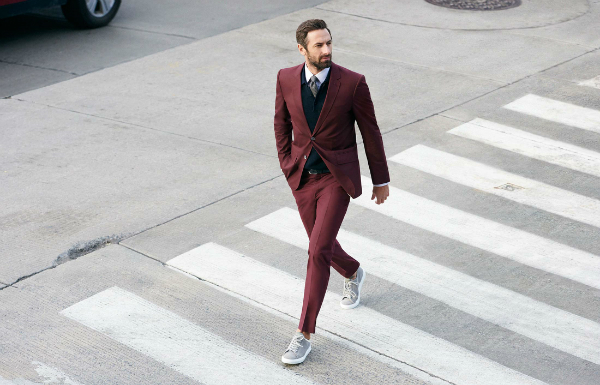 Suit & Sneaker