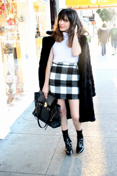 PASTEL AND PLAID, plaid, gingham, topshop, knit crop, fuzzy