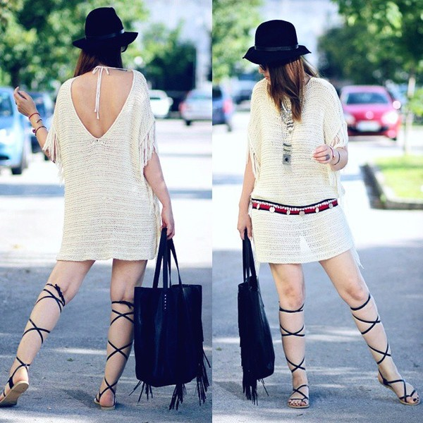 Fringe benefits, fringe, sweater,