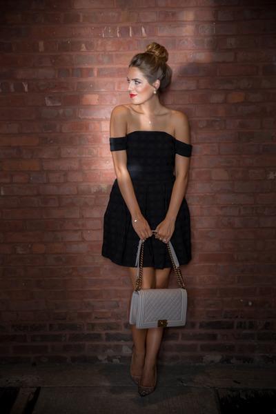 Little Black Dress, asos, bardotdress, cameo, christianlouboutin