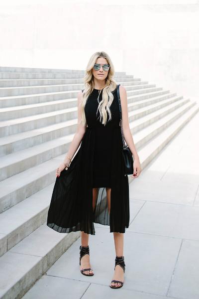 SASSY LBD, sexy dress, black dress, party dress, layer dress