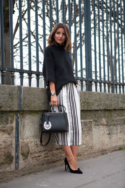 BLACK & WHITE IN PARIS, LMculottes, culottes