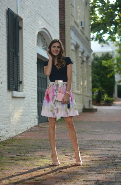 The Quarter Life Closet & Ted Baker, Summer Weddings, girly, cocktail, Ted Baker, Garden Party