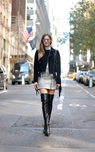 NYFW & Topshop , NYFW, Fringe, Over-the-Knee boots, Topshop