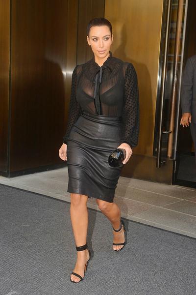 Sheer- Kim Kardashian, sheer, sheerblouse, blouse