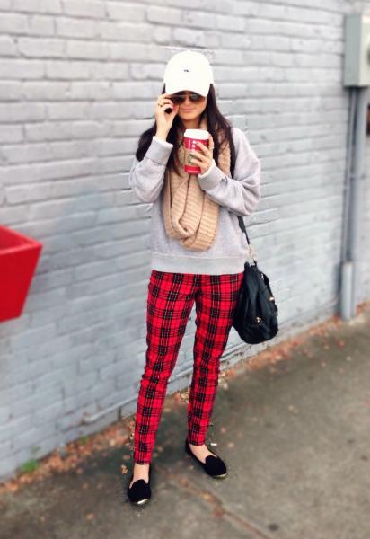 Weekend Take Two, tartan, fall, trend, style