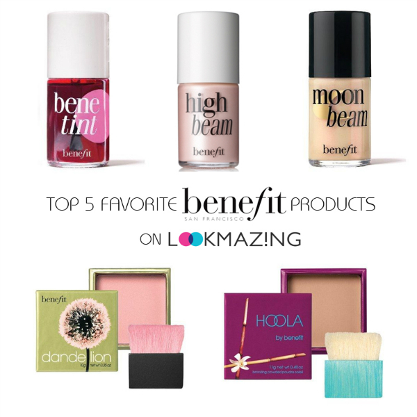 Top 5 Favorite Products from Benefit, top 5 favorites