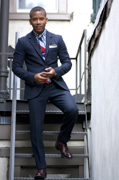 Navy Suits and Leather Shoes Styling, suiting, menswear, fall, trend, style, business