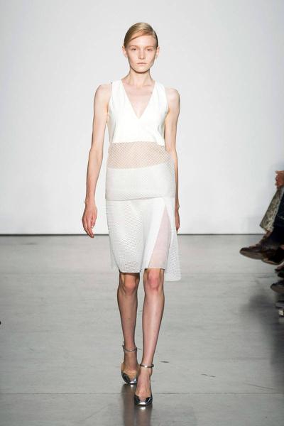 Reed Krakoff SS14, sheer, trend, runway