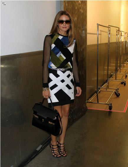 Snaped: Tibi at New York Fashion Week, olivia palermo, celebrity, trend, new york fashion week, black and white