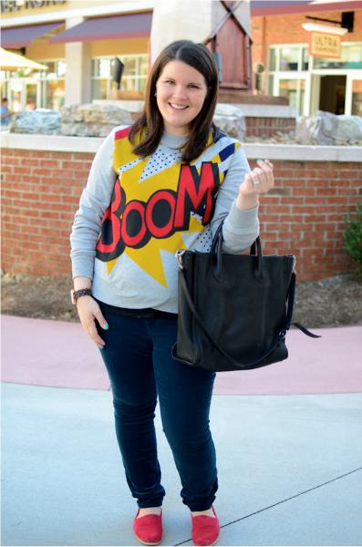 BOOM, statement sweatshirt, target, collaboration, trend, fall