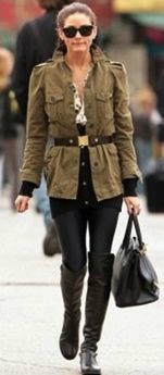 Olivia Palermo Riding Boots