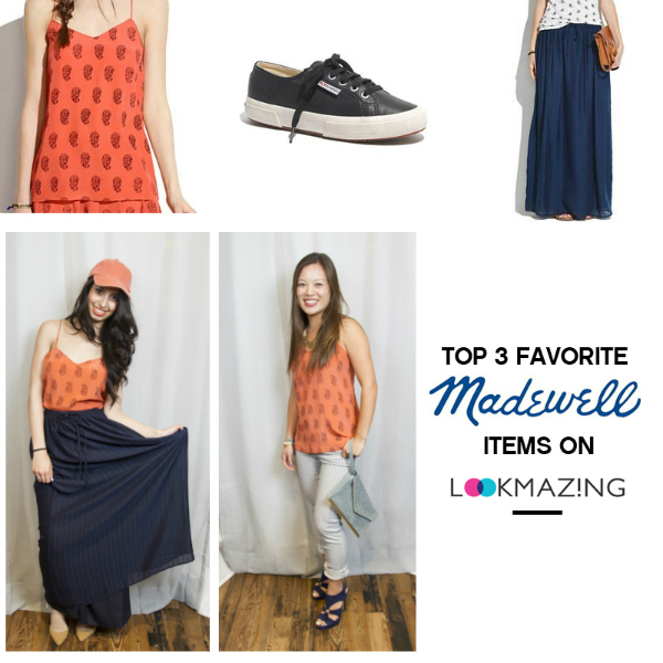 Top 3 Favorite Items from Madewell on LookMazing