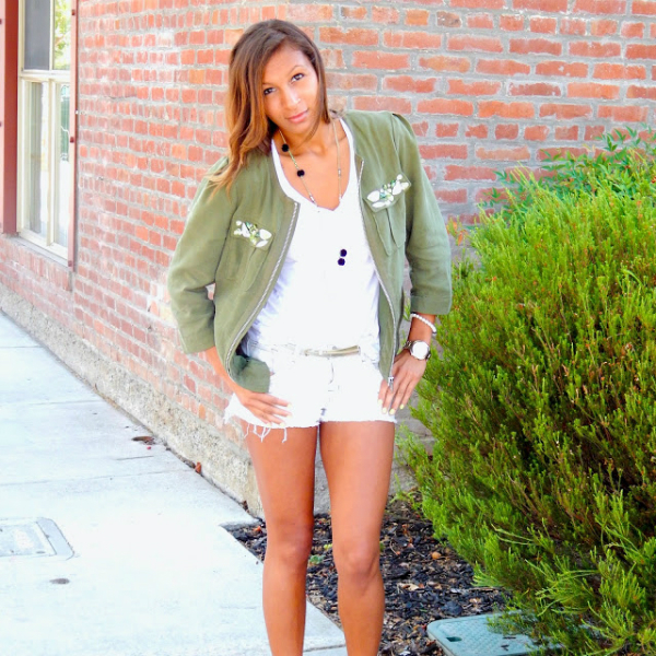 Military Glam, bomber jacket, trend, fall, military, glam