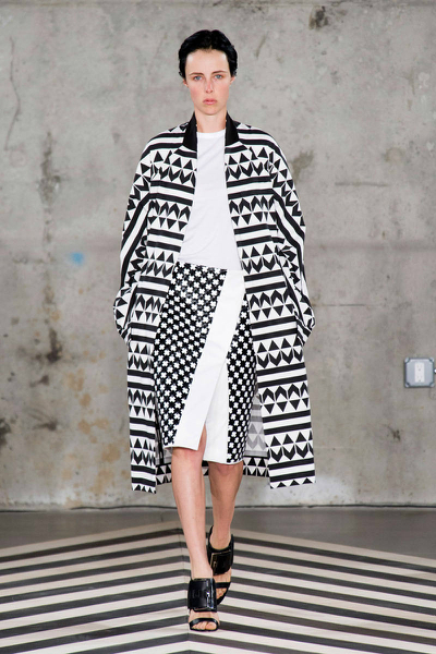 Edun Runway- Black and White, black and white, edun, runway, trend, spring