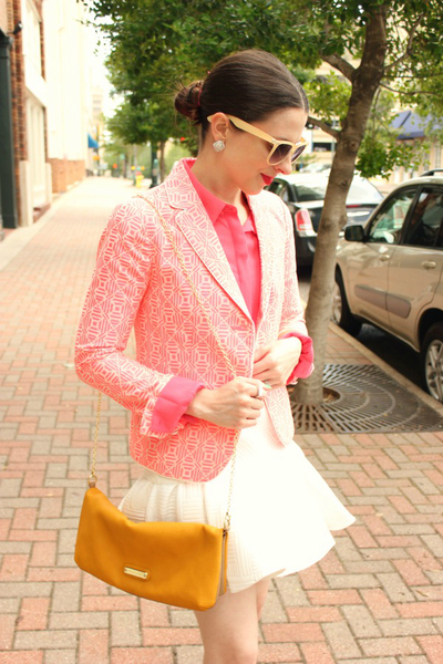 Pink Party, flare hem, trend, style, fall