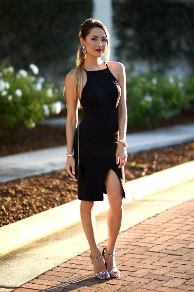 Statement Heels, sexy dress