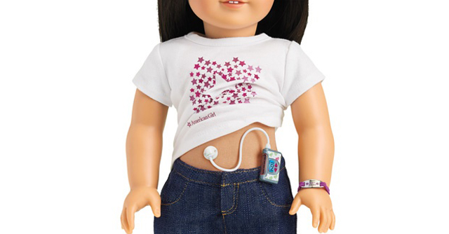 Diabetes Care Kit for American Girl Dolls | The LOOP Blog