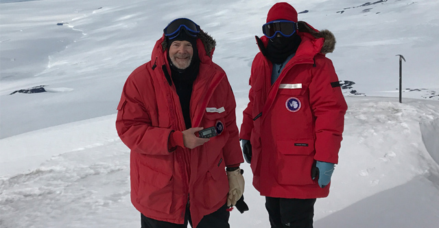 To a Volcano in Antarctica, With My Pump! | The LOOP Blog