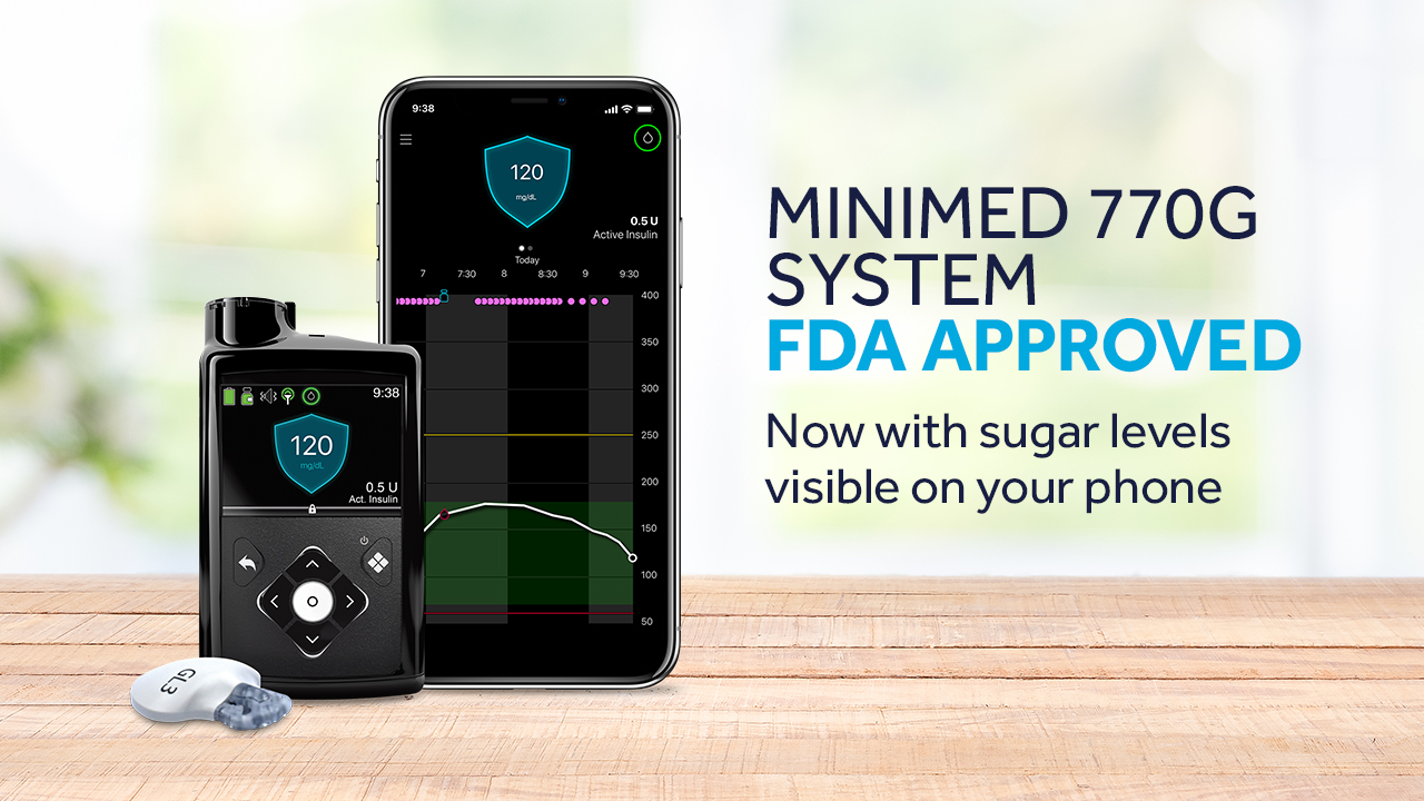 MiniMed 770G system