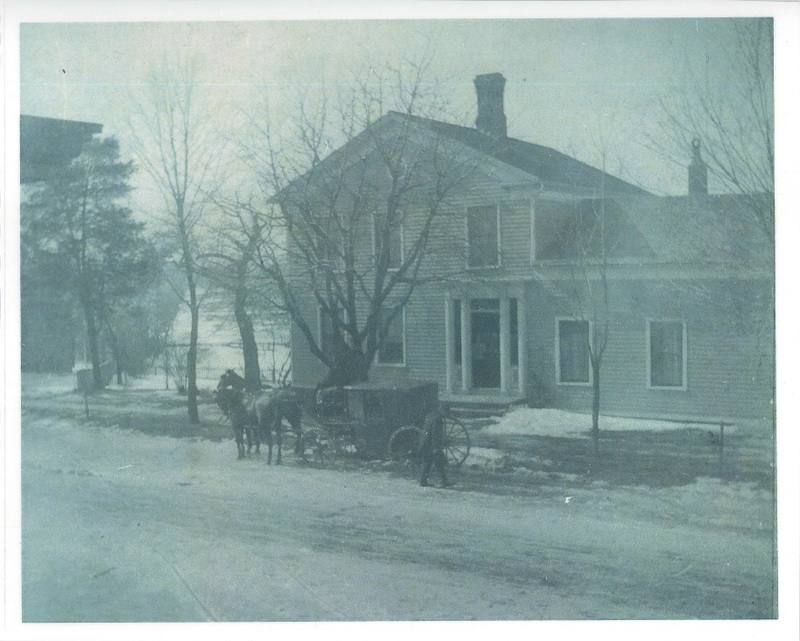 H.H. Williams House north side of Detroit and corner of French Creek Rd c.1900