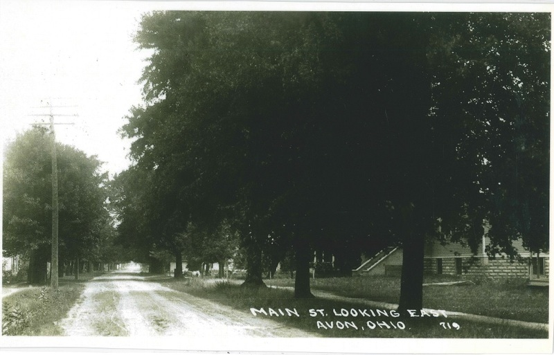 Hays St. looking east on Detroit Rd. c.1930