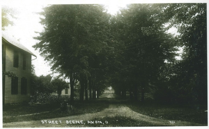Hays St. looking south from Detroit Rd.  c.1910