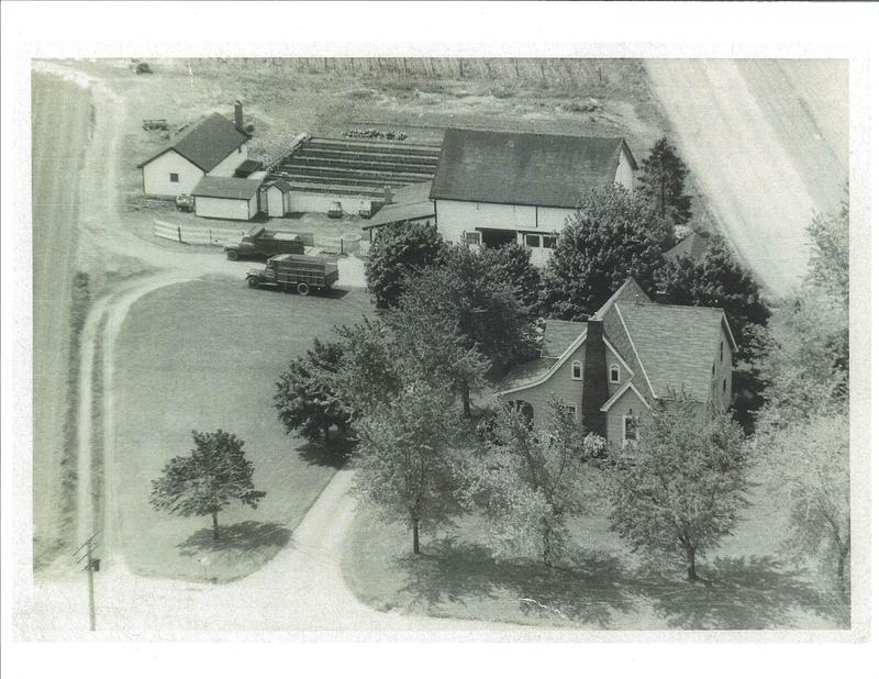 Obker farm Detroit Rd. east side. c.1950