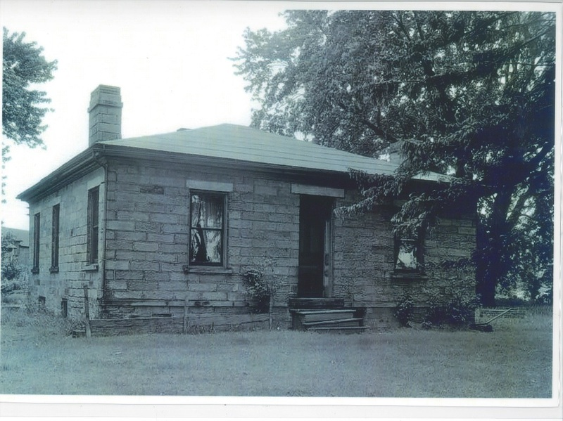 Lewis House original location on Rt. 83 c.1936.  House later moved to Old Avon Village on Detroit Rd. where is it now the detail store.