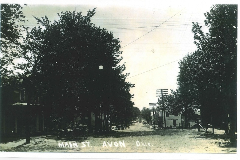 Detroit Rd. looking west from Stoney Ridge c.1905
