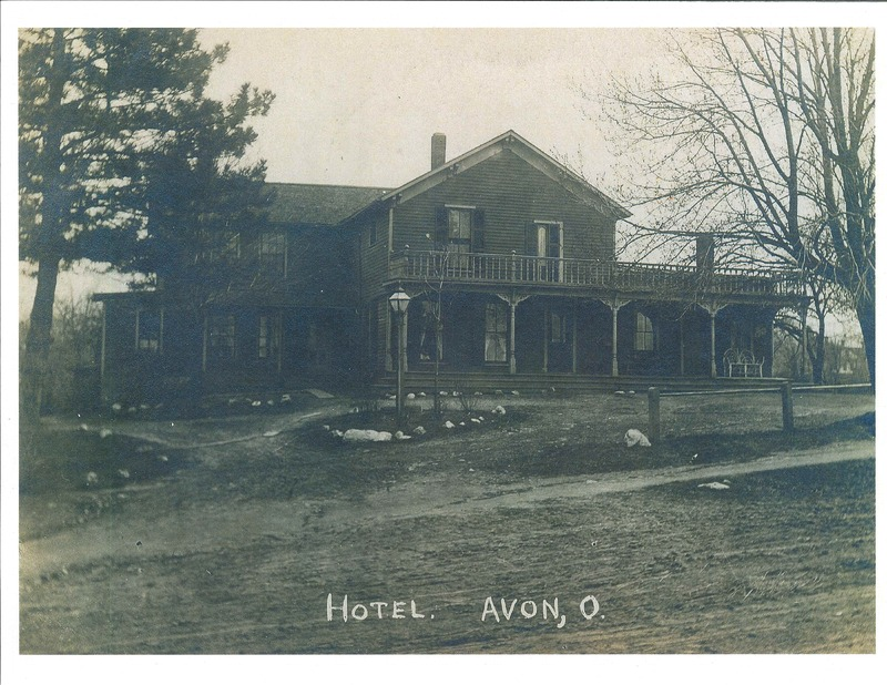 Avon Hotel Detroit Rd. south side (Wilford Home). c.1910