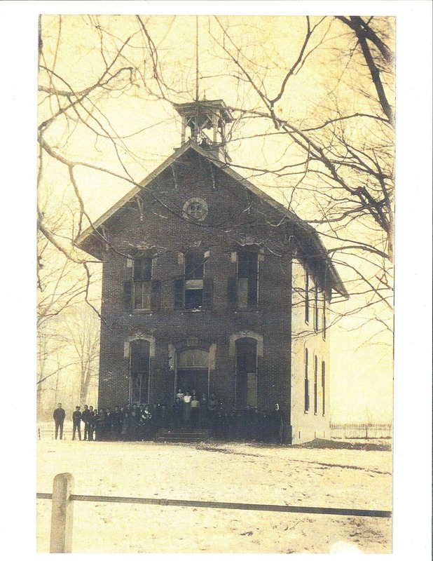 South side of Julian St. School.  c.1910