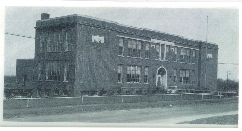 Avon Village School Detroit Rd.  Yearbook photo approx. 1930