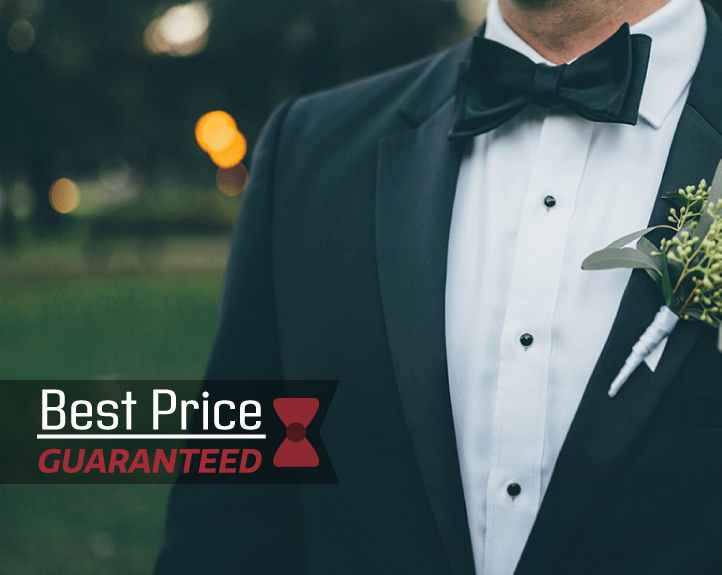 Best Price on Wedding, Prom, Black Tie Tuxedos and suits