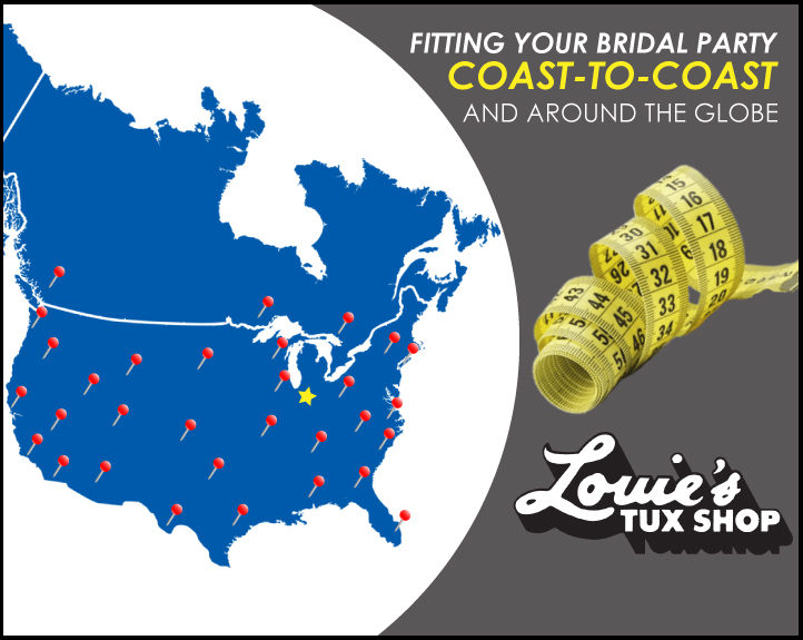 Coast to Coast Wedding, Prom, and Black Tie Event Tuxedo Fittings