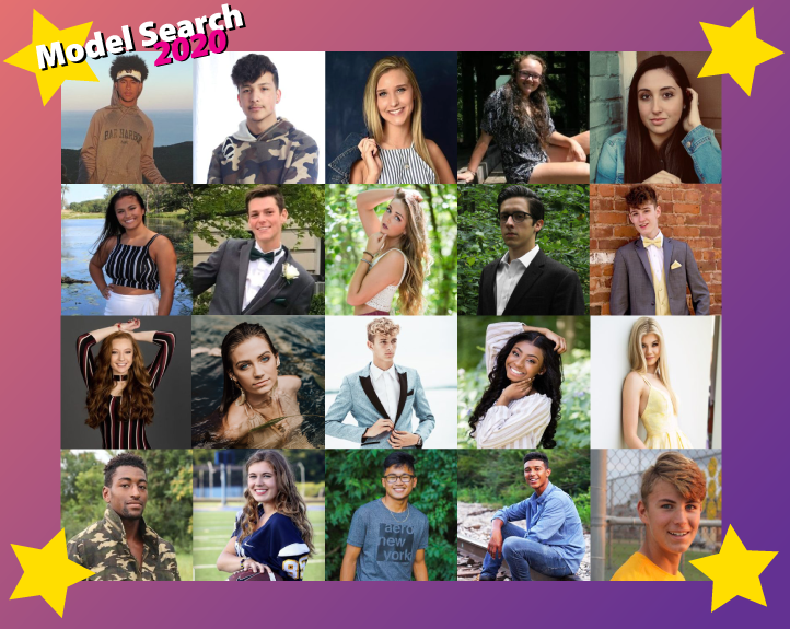 Model Search 2020 Cast Home Slide