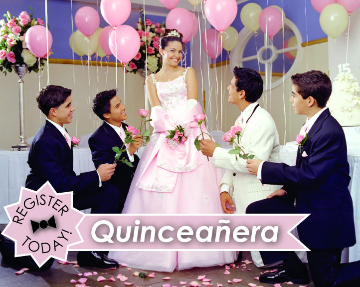 Quinceanera Tuxedo Suit Rental Savings and Free Invitations