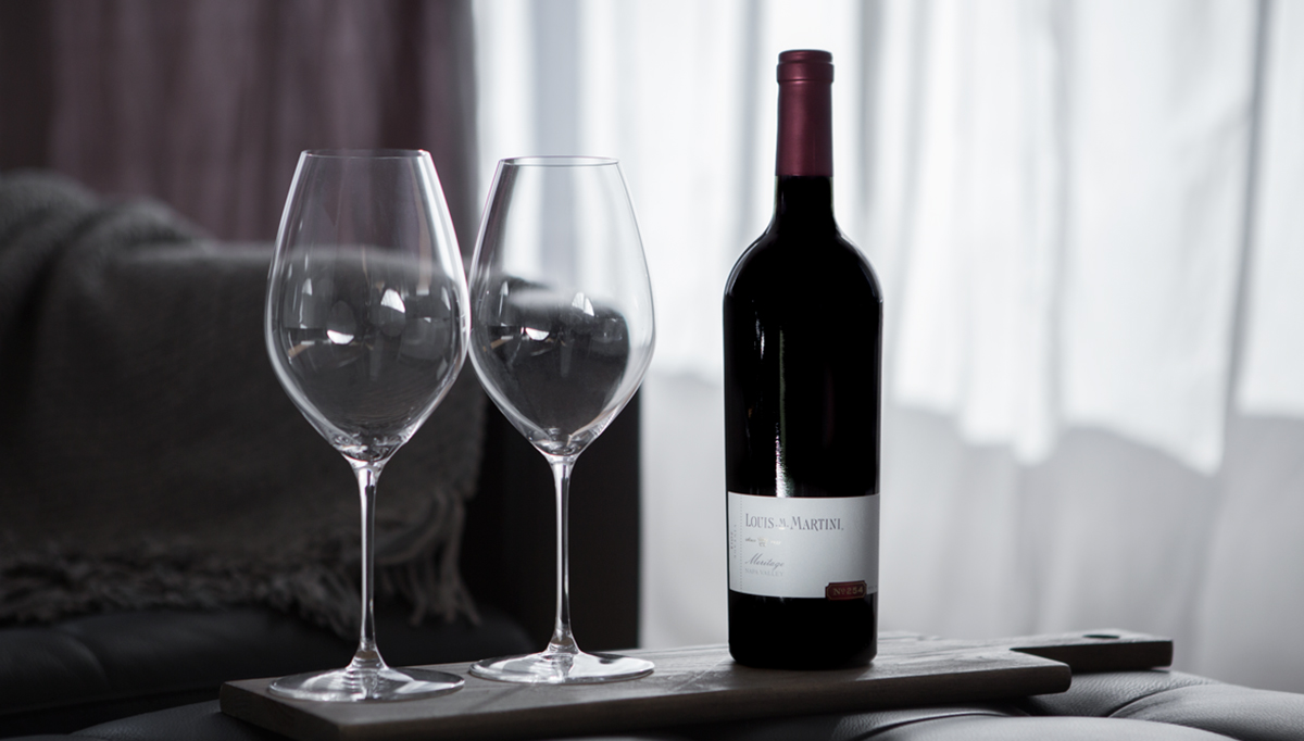 2014 Cellar No. 254 Meritage + Riedel Glasses