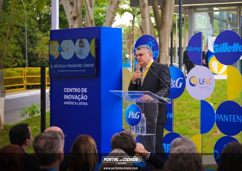 Inauguração Do Centro De Inovação P&G.