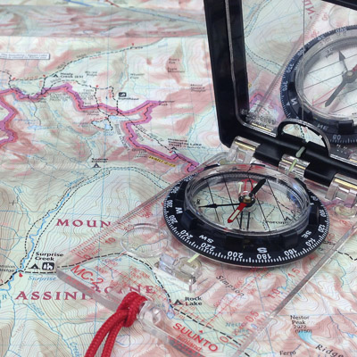 Map And Compass Navigation Basics - Classes - Learn Sonoma ...