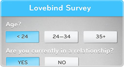 The Lovebind Survey