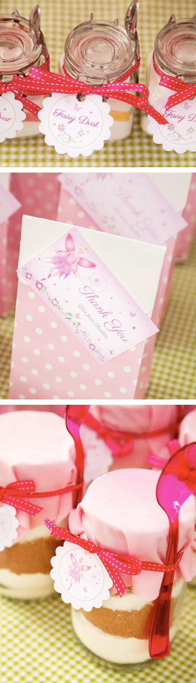 Fairy Party Favour Ideas. Home Fairy Dust in a Jar