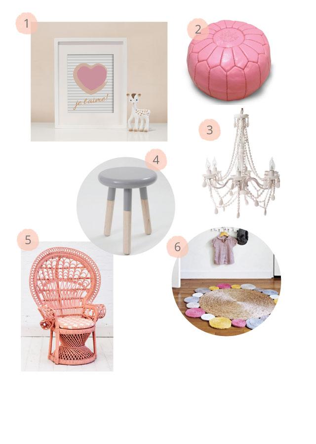 Pink & Peach Nursery Inspiration