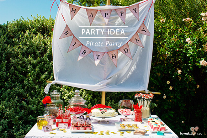 Take a look at our fabulous Pirate Party for ideas and inspiration!