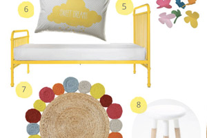 Blue and Yellow Nursery Ideas