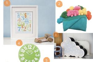 Colourful Kids Room and Nursery Ideas