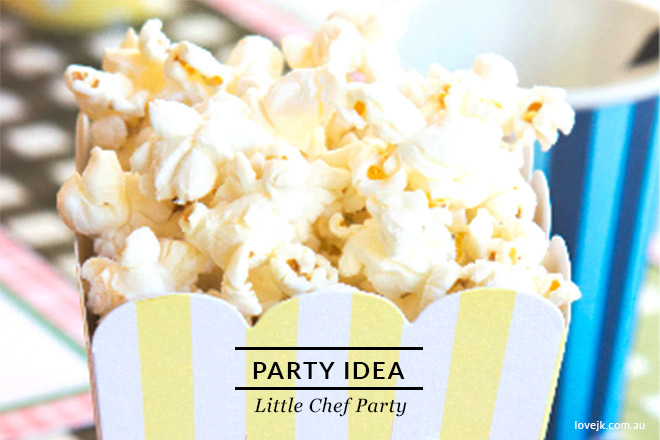 Little Chef Party Ideas - The perfect party or boys and girls alike.